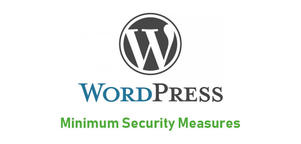 WordPressの最低限のセキュリティ対策