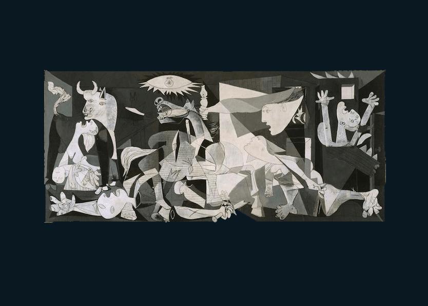 『ゲルニカ』パブロ・ピカソ(1937年)